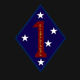 1st Marine Division Emblems I Marine Division