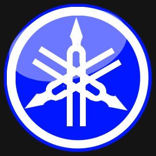 Yamaha Logo Blue By